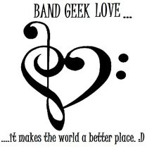 ...or Orch Dork Love...the love for their instruments...