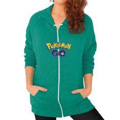 Pokemon GO Zip Hoodie (on woman) Shirt