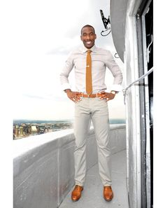 """GQ.com names today """"NBA's style golden age,"""" looking back from the mid '50s to the present on the styles worn by basketball's elite. While in the past the athletes in this sport have worn some pretty hideous stuff, presently they seem to hit the nail on the head every time. With athletes like Amar'e Stoudemire dressing so dapper we can expect men to follow suit, dressing just a bit better than casual friday. Stormi C."""