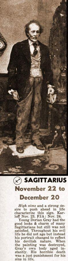Sagittarius   Dorian Gray
