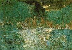 Sea View Artist: Salvador Dali Start Date: 1918 Completion Date:1919 Style: Impressionism Genre: marina