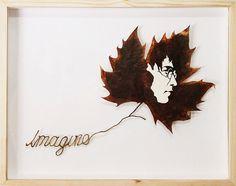 intricate cut leaf art by lorenzo duran