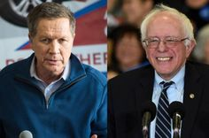 Bernie Sanders won big in Indiana so why did The New York Times relegate him to below its coverage of John Kasich?