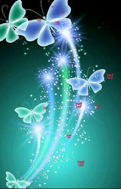Butterfly Ringtones and Wallpapers - Free by ZEDGE™ Green Butterfly, Butterfly Flowers, Beautiful Butterflies, Cellphone Wallpaper, Iphone Wallpaper, Butterfly Pictures, Butterfly Wallpaper, Glitter Graphics, Pretty Wallpapers