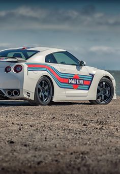Nissan GT-R Martini livery