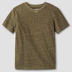 Boys' Heathered V-Neck T-Shirt