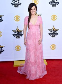 ACM Awards 2015 - Kacey Musgraves in Monique Lhuillier.