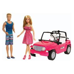 Mattel Barbie Beach Cruiser and Ken Doll for sale online Barbie Real, Barbie E Ken, Ken Doll, Mattel Barbie, Barbie Dolls, Barbie Cars, Barbie Model, Barbie Stuff, Doll Toys