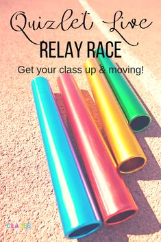 Get your students moving with Quizlet Live relay races in any class. Mix up Quizlet Live and get students out of their seats. #QuizletLive #SpanishClass #BrainBreak #QuizletinSpanishClass #Teamgames Classroom Games, Future Classroom, Classroom Management, Classroom Ideas, French Classroom, Spanish Classroom, Teaching Tools, Teaching Resources, 6th Grade Activities