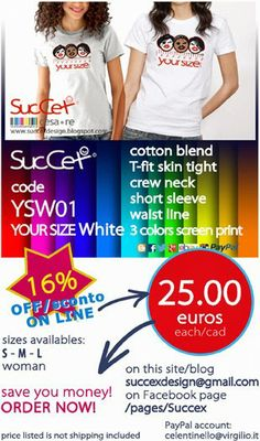 SucCex Design Italy: YOUR SIZE Price April 2014