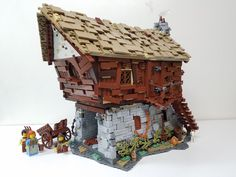Lego medieval watermill | by ben_pitchford