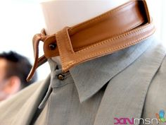 Hey man... Check out my stand alone leather collar...