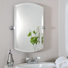 While choosing a bathroom mirror, plan subtle elements improve things significantly.