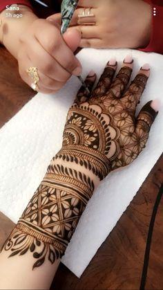 Henna Hand Designs, Mehndi Designs Finger, Modern Mehndi Designs, Mehndi Design Pictures, Wedding Mehndi Designs, Mehndi Designs For Fingers, Beautiful Henna Designs, Mehndi Tattoo, Tattoo Dotwork