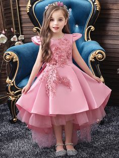 Girls Wedding Party Birthday Dress Princess Dress For Girls Tutu Big Bow Elegant Best Picture For neutral wedding parties For Your Taste You are looking for something, and it is going to tell you exac Tutus For Girls, Girls Party Dress, Birthday Dresses, Little Girl Dresses, Girls Dresses, Kids Girls, Dresses For Kids, Birthday Girl Dress, Dress Party