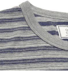 Officine GeneraleStriped Cotton-Jersey T-Shirt