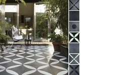 Floor tiles with great patterns by vtwonen
