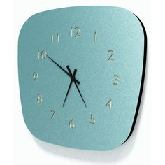 Horloge vintage esprit formica Louise (3 coloris) Les Gambettes Modern Clock, Mid-century Modern, Atomic Time, Sweet Home, Mid Century, Wall Clocks, Home Decor, Storage Ideas, Watches