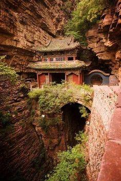 Moon Bridge Temple, China.