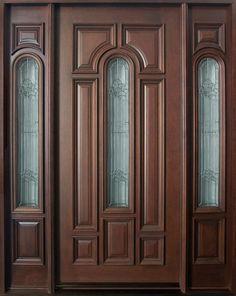 single wooden door designs - Google Search