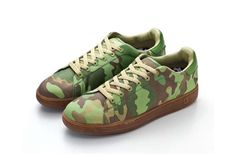 The New BBC Nothing Camouflage Canvas Sneaker Combines Casual Style & Comfort #camo #shoes trendhunter.com