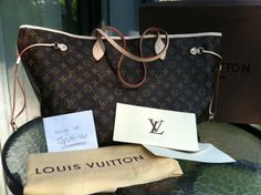 """Simply stunning! Authentic Louis Vuitton """"Neverfull GM"""" - starting at $550."""
