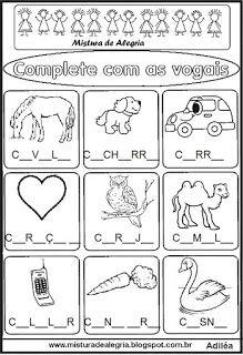 Atividade vogais