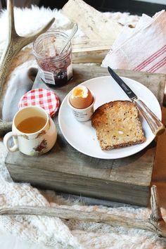Bonne Maman. Mmmm a perfect breakfast