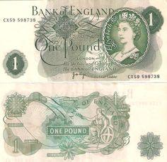 Bank of England - 1 Pound