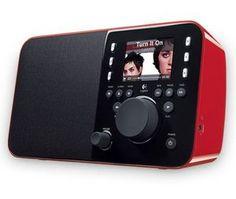 Logitech Squeezebox Radio rot - 169€