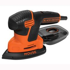 BLACK+DECKER Detail Sander at Lowe's. Extremely compact to fit into tight spaces, the Mouse® Detail Sander features a three-position grip for versatility while you work. Sheet Sander, Best Random Orbital Sander, Hand Sander, Diy Home Bar, Industrial Pipe Shelves, Finishing Sander, Oak Cabinets, Wooden Pallet Projects, Diy Home