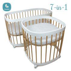 Stubenwagen (Babybett Auf Rollen) 4. Kinderbett 5. Laufgitter 6. Kinderbett  Offen / Kindercouch 7. Tisch Mit 2 Stühlen   Für Kinder U0026 Erwachsene Das ...
