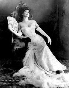 Just because I remember Ava Gardner from my childhood