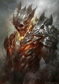 Demon warrior!