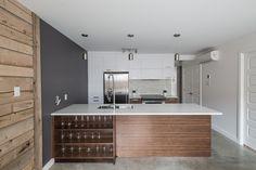Cuisine Innovation, Condo, Alcove, Bathtub, Bathroom, Kitchen, Design, Kitchens, Standing Bath