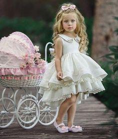 Dollcake and Pleiades Dress Rental - Size 4 Little Girl Dresses, Girls Dresses, Flower Girl Dresses, Little Girl Fashion, Kids Fashion, Toddler Girls Fashion, Dollcake Dresses, Dress Rental, Beautiful Children