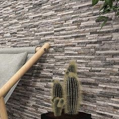 Spending extra time in your backyard lately? Maybe you're thinking about renovating your outdoor space - and we've got just the tile for you! ⠀⠀⠀⠀⠀⠀⠀⠀⠀ Meet our Bohemia collection! Bohemia is a multi-textured porcelain ledger stone! It is available in a 7x20 brick format and comes in 5 great colors - Beige, Blanco, Gris, Magma, and Nero. This tile can be used both indoors and outdoors to create a cohesive transition. ⠀⠀⠀⠀⠀⠀⠀⠀⠀ Order a sample now! Stone Cladding Tiles, Stone Cladding Exterior, Natural Stone Cladding, Timber Tiles, Wall Exterior, Stone Tiles, Outdoor Tiles, Grey Stone, Porcelain Tile