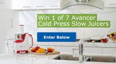 Win 1 of 7 Cold Press Slow Juicers