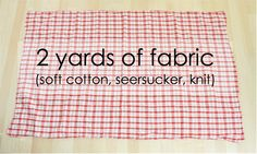 another crib sheet pattern
