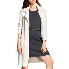 - Mossimo Sweater Coat Beige, $40.