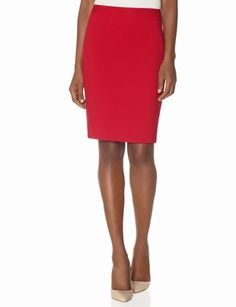 Slant Seamed Pencil Skirt from THELIMITED.com #ItsTime #TheLimited