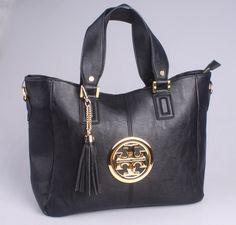 Tory Burch Tassels Decorate Black Satchel [TB009] - $100.00 : Designer Shoes & Flats, Handbags & Accessories | Tory Burch  $100.00