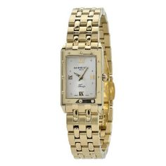 Raymond Weil Women's 5971-P-00915 Tango Rectangular Case Gold Tone Watch Raymond Weil. $682.00. Gold tone bezel, casing, and band. Antireflexive saphire crystal. Swiss quartz movement. Mother-Of-Pearl dial. Water resistant to 165 feet