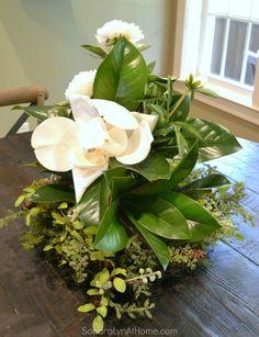 A Country Housewarming- Magnolia Arrangement - Breakfast Room - Sondra Lyn at Home-