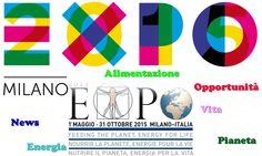 """Alimentazione, cibo, energia. Questo è Expo Milano 2015. """"Nutrire il pianeta. energia per la vita"""". Scopri di più su www.newsexpo2015.eu"""