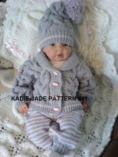 Sin Kadie 91-JADE modelo que hace punto