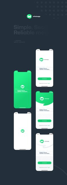 Whatsapp UI/UX and Branding Redesign Project Android App Design, App Ui Design, Mobile App Design, Android Apps, Ux Design Principles, Linkedin App, Mobile App Ui, Jobs Apps, Chat App