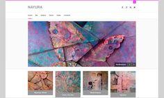 AZURNET Diseño Web - Nayura pintora.