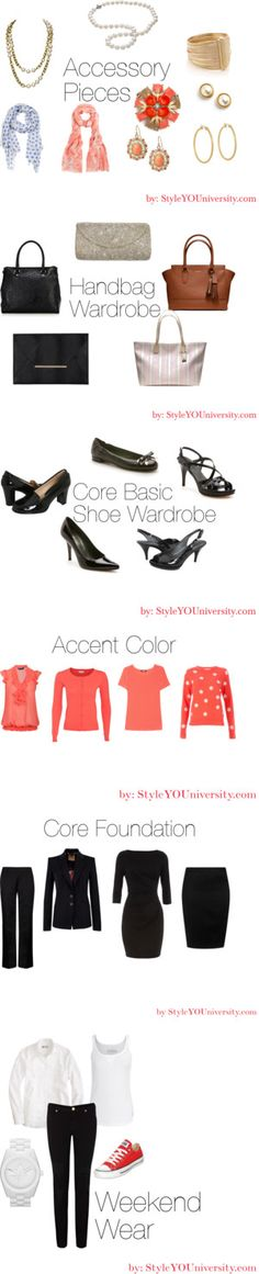 """Wardrobe Building 101"" by styleyouniversity on Polyvore"