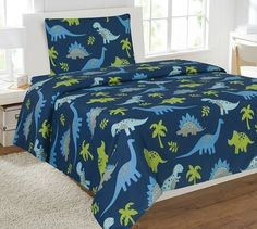Looking for great Fancy Linen 8 pc Full Size Dinosaur Blue Light Blue Grey Green Comforter Set with Furry Buddy Included # Dino Blue by cheap price? Boys Comforter Sets, Full Size Comforter Sets, Comforter Sale, Green Comforter, Kids Comforters, Bedding Sets, Bedspreads, Kids Beds For Boys, Kid Beds